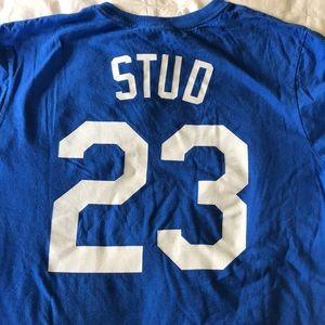 3d02e0d10be Nike Tops - Duke Mike Stud Baseball T